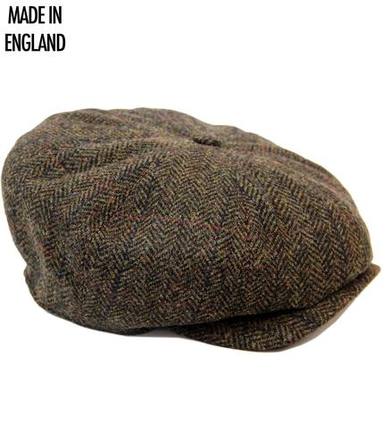 GIBSON LONDON RETRO TWEED GATSBY HAT YORK