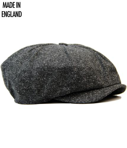 GIBSON LONDON RETRO DONEGAL TWEED GATSBY HAT