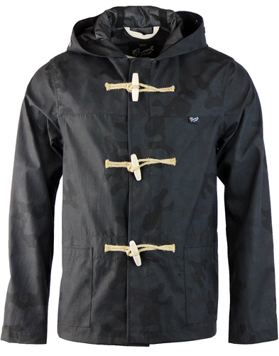 Summer Monty Camo GLOVERALL Retro Mod Duffle Coat