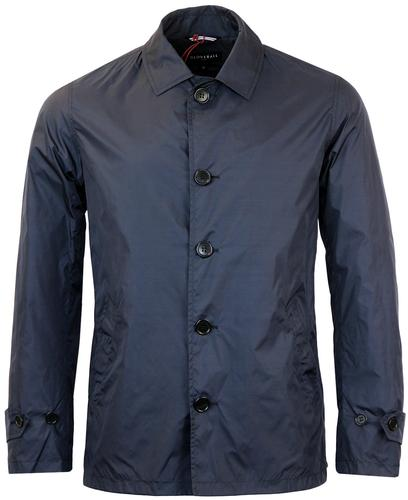 gloverall retro mod lightweight short mac jacket
