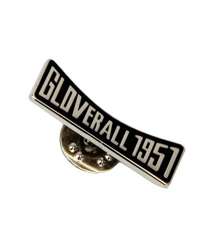 GLOVERALL RETRO MOD PIN BADGE