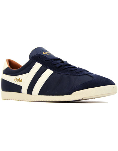Bullet Nylon GOLA Men's Retro 70s Trainers NAVY