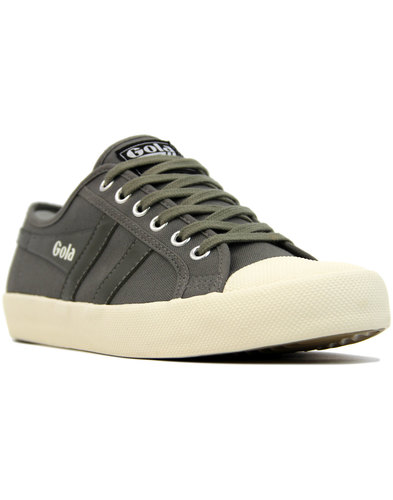 Coaster GOLA Men's Retro 70s Canvas Trainers GREY