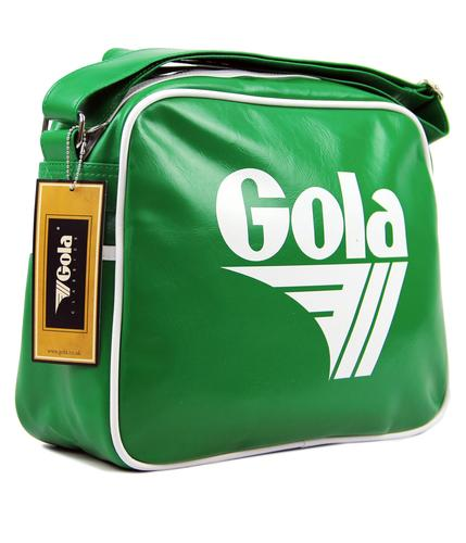 GOLA CLASSICS RETRO MESSENGER BAG GREEN