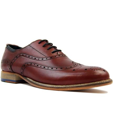goodwin smith brisbane retro mod wingtip brogues