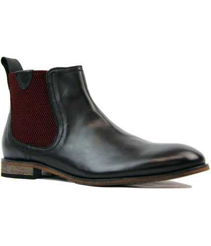 goodwin smith hurstwood mod chelsea boots black