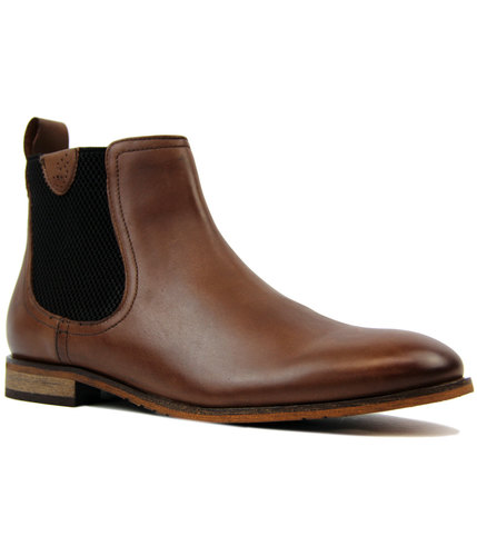 goodwin smith hurstwood mod chelsea boots brown
