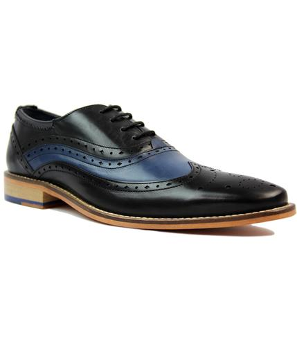 goodwin smith jack retro 60s mod two tone brogues