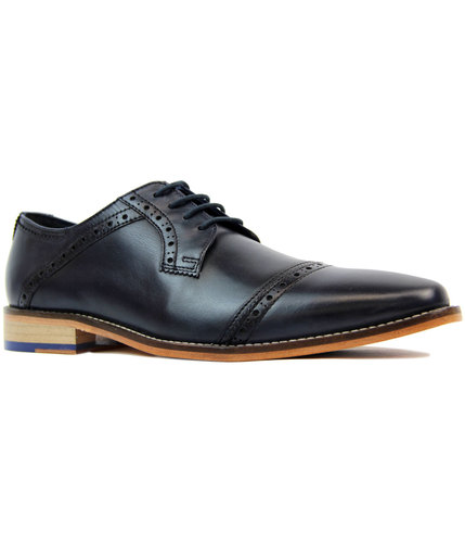 goodwin smith langho retro mod chisel toe brogues
