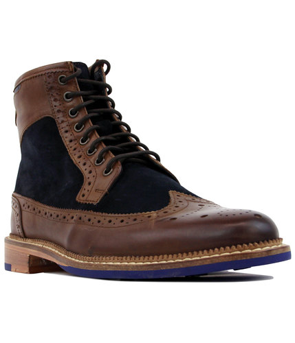 Pendleton GOODWIN SMITH Retro 2-Tone Brogue Boots