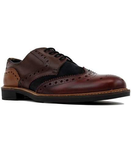 goodwin smith worsthorne mod multi colour brogues