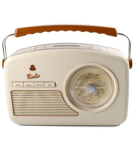 GPO RETRO RADIO VINTAGE DAB RYDELL RADIO CREAM