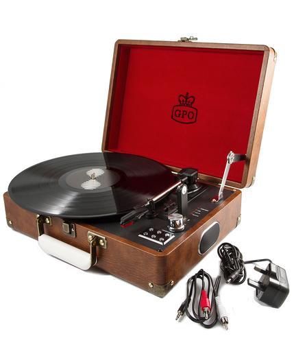 GPO RETRO 1960s Attache Case Vinyl Record Player