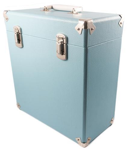GPO Retro Vinyl Case | 60s Mod LP Record Box BLUE