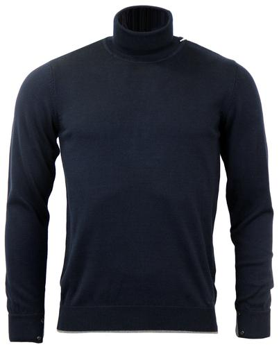 GUIDE LONDON RETRO MOD 70s ROLL NECK JUMPER