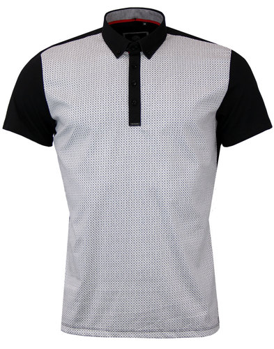 guide london retro 1960s mod tile polo black