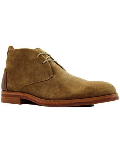 h by hudson matteo retro mod suede chukka boots