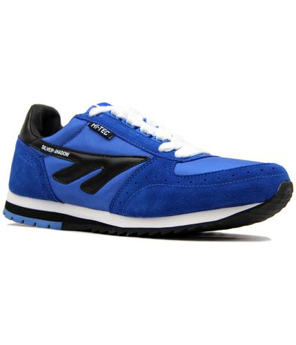 HI-TEC RETRO SILVER SHADOW ORIGINAL TRAINERS BLUE