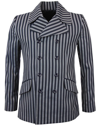 madcap england howl 60s mod double breasted blazer