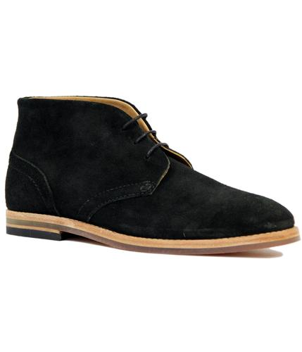 H by HUDSON HOUGHTON RETRO MOD SUEDE DESERT BOOTS