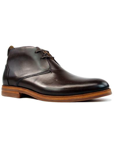 Matteo H by Hudson 60s Mod Chukka Boots Brown