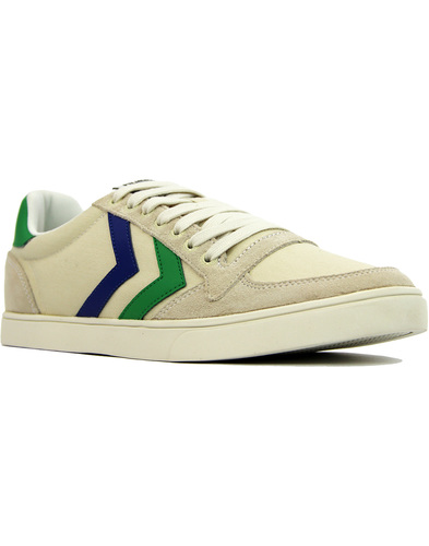 Slimmer Stadil Duo HUMMEL Retro Canvas Trainers W