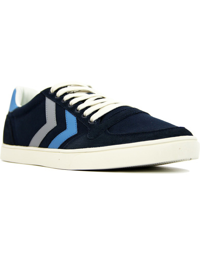 Slimmer Stadil Duo HUMMEL Retro Canvas Trainers TE