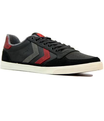 HUMMEL RETRO INDIE SLIMMER STADIL OILED LOW BLACK