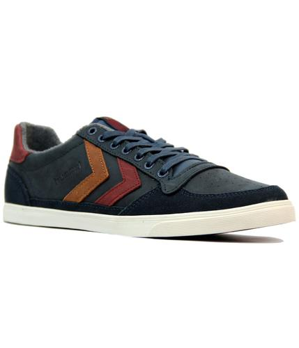 HUMMEL RETRO INDIE SLIMMER STADIL OILED LOW BLUE