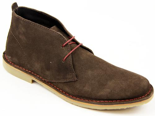 IKON ORIGINAL MOD DESERT BOOTS BROWN RETRO BOOTS