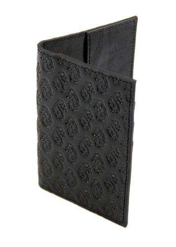 LUKE 1977 IMMIGRATION RETRO PASSPORT HOLDER BLACK