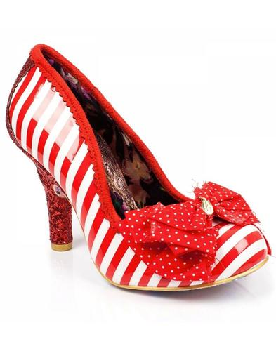 Ascot IRREGULAR CHOICE Retro Mod Stripe Heels (R)