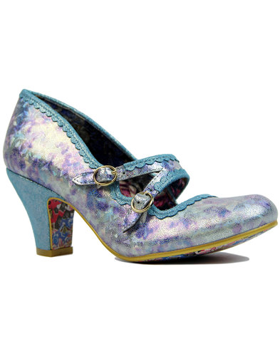 irregular choice candy whistles iridescent heels