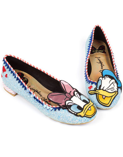 Whoa! IRREGULAR CHOICE Donald & Daisy Duck Shoes
