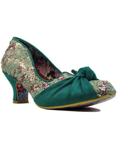 irregular choice dazzle pants sequin kitten heels