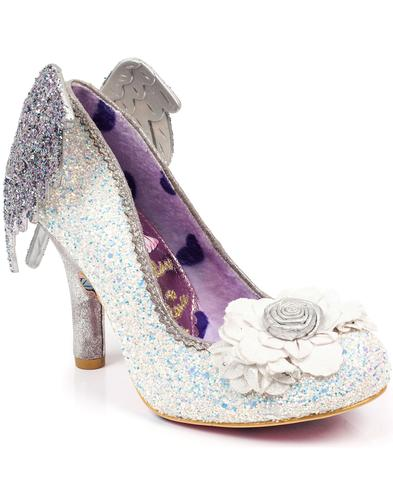 Icarus White IRREGULAR CHOICE Angel Wings Heels