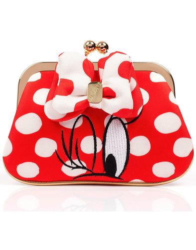Irregular Choice Mickey Mouse I Heart Minnie Purse
