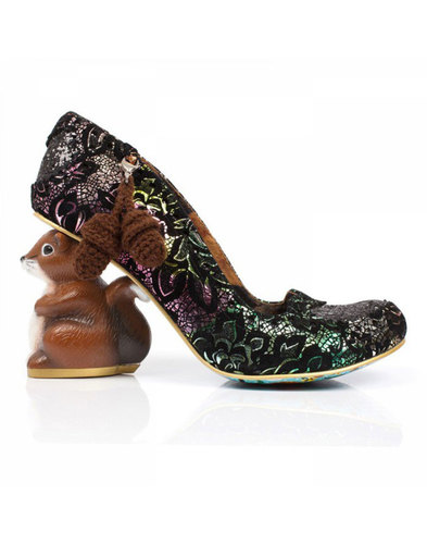 Irregular Choice Nibbles McNutty Squirrel Heels