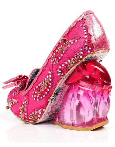 Hoppity IRREGULAR CHOICE Ltd Ed. Pink Bunny Heels
