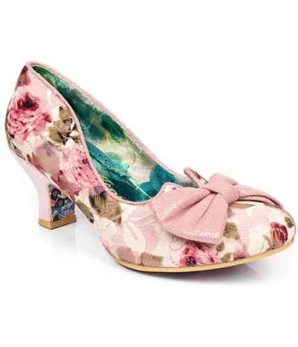 IRREGULAR CHOICE DAZZLES 2ND RAZZLE VINTAGE HEELS