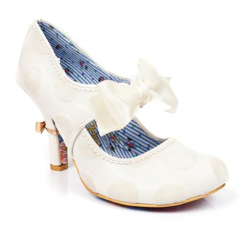 IRREGULAR CHOICE RING THE BELL VINTAGE WEDDING
