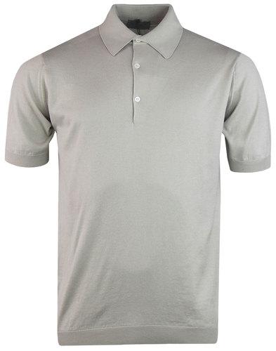 john smedley adrian shirt standard fit beige