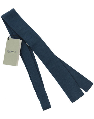 Flint JOHN SMEDLEY 60s Mod Knitted Square End Tie