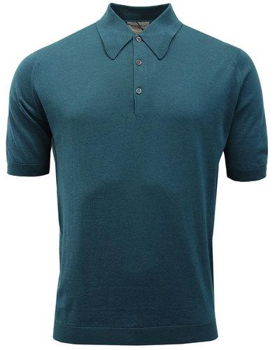 Isis JOHN SMEDLEY Made in England Mod Polo Shirt