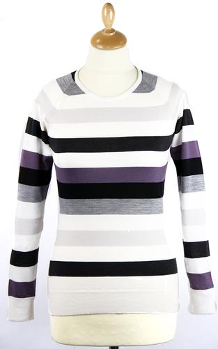 JOHN SMEDLEY RETRO VINTAGE WINTER WOMENS JUMPER
