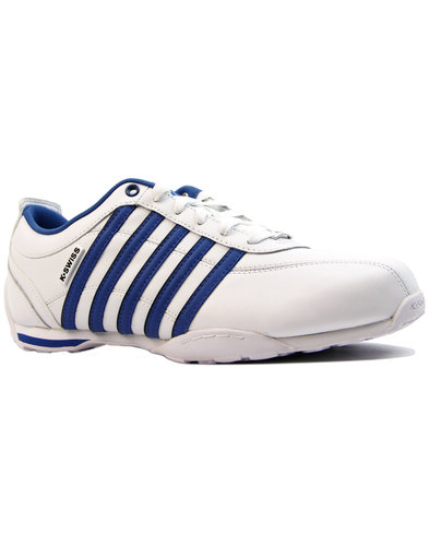 k-swiss arvee retro indie athletic trainers white