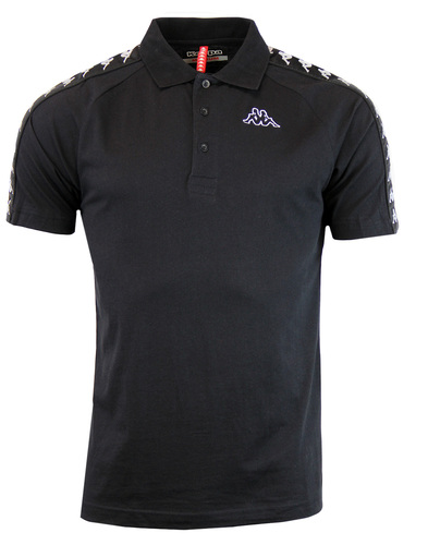 Estrel ROBE DI KAPPA 80s Retro Taped Sleeve Polo