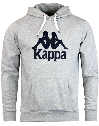 Loftus KAPPA Retro 70s Omni Logo Hooded Sweatshirt