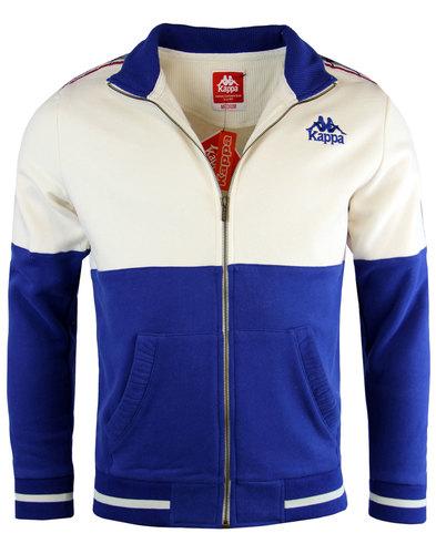 kappa zaft retro 70s indie jersey sweat track top