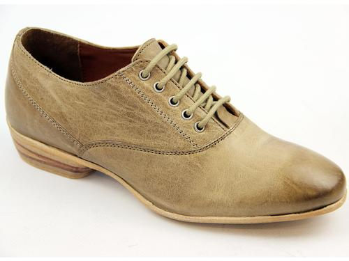 LACEYS WOMENS OXFORD SHOES CALAMITY ANTIQUE